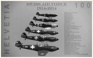Swiss Air Force 100 years history